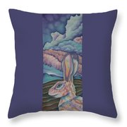 Mountain King Throw Pillow