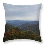 Mountain Landscape 7 Throw Pillow