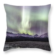 Mountain Magic Throw Pillow