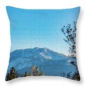 Mountain Majestic Throw Pillow