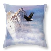 Mountain Majesty Throw Pillow