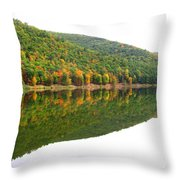Mountain Mirror Throw Pillow