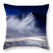 Mountain Of Alaska Throw Pillow