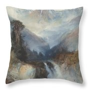 Mountain Of The Holy Cross Throw Pillow