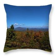 Mountain Overlook Throw Pillow