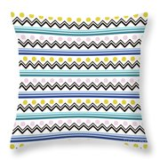 Mountain Pattern Throw Pillow