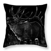 Mountain Reveille Throw Pillow
