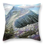 Mountain Ridge Throw Pillow