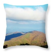 Mountain-scape Throw Pillow
