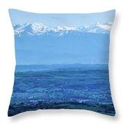 Mountain Scenery 16 Throw Pillow