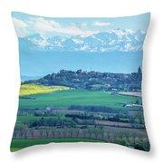 Mountain Scenery 17 Throw Pillow