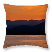 Mountain Shadows Throw Pillow