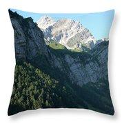 Mountain Sight Throw Pillow