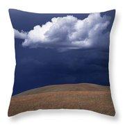 Mountain Sky Throw Pillow