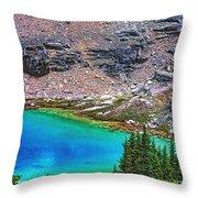 Mountain Tarn Throw Pillow