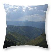 Mountain Top 1 Throw Pillow