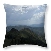 Mountain Top 2 Throw Pillow