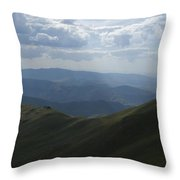 Mountain Top 3 Throw Pillow