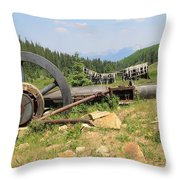 Mountain Treasures 2 Throw Pillow