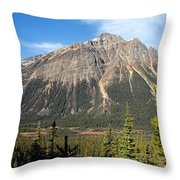 Mountain View 1 Throw Pillow