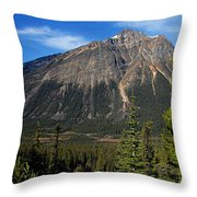 Mountain View 2 Throw Pillow