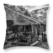 Mountain Workshop Throw Pillow