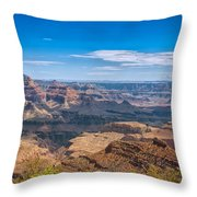 Mountains Below The Surface Throw Pillow