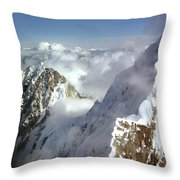 Mountain's Edge Throw Pillow