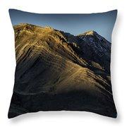 Mountains In Argentina Throw Pillow