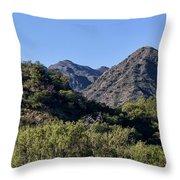 Mountains In Cordoba, Argentina Throw Pillow