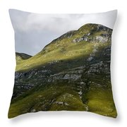 Mountains In Morning Light Throw Pillow