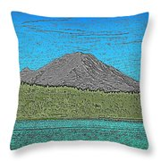 Mountains Majesty Throw Pillow