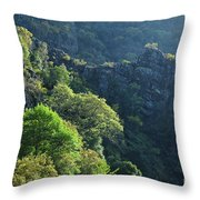 Mountains Of Lousa Throw Pillow