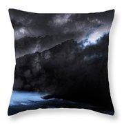 Mountains Of The Blue Ridge Throw Pillow