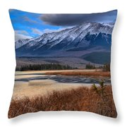 Mountains Over Talbot Throw Pillow