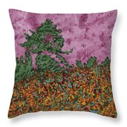 Mountbretia Evening Throw Pillow