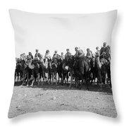 Mounted Guard, 1921 Throw Pillow