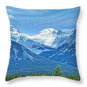 Mounts Inglismaldie And Girouard Throw Pillow
