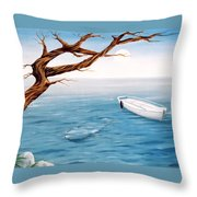 Mourning Spring Throw Pillow