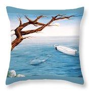Mourning Spring Throw Pillow