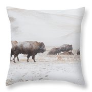 Move Out Throw Pillow