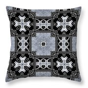 Movement In Abstraction Throw Pillow