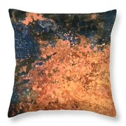 Movement Of Color I  Throw Pillow