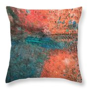 Movement Of Color II Throw Pillow