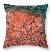 Movement Of Color IIi Throw Pillow
