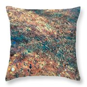 Movement Of Color V Throw Pillow