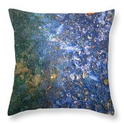 Movement Of Color Viii Throw Pillow