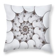Movement Of Sorrow Throw Pillow
