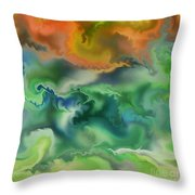 Movement Of The Natural World Throw Pillow