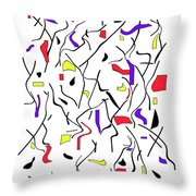 Movement One Throw Pillow